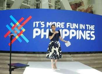 MANILA. Tourism Secretary Bernadette Romulo-Puyat launches the renewed