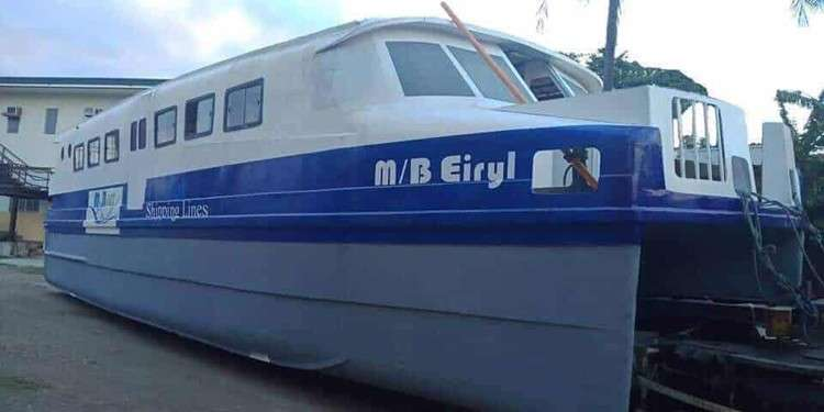 Sea taxis are almost complete and will be carrying passengers from the City of Naga to Cebu. (Contributed photo)