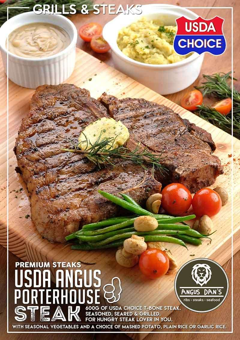 Beef, Please: Angus Dan's serves Premium Steaks (and more) in the