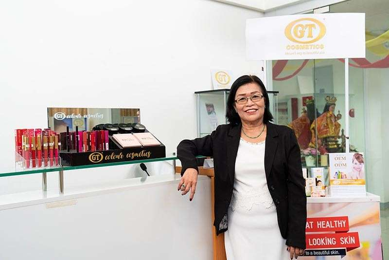 MEANT TO BE. For Leonora Salvane, her business suits her well, being a chemical engineer and a woman who likes to keep up with beauty trends. Aside from soaps and lotion, she is set to launch a lipstick line. (Contributed photo)