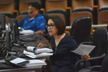 Cebu City Councilor Margot Osmeña said they made corrections to the budget they earlier sent to the Department of Budget and Management after the agency returned it because of several deficiencies. (SunStar file)