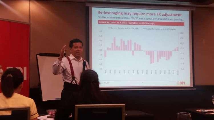 BPI's lead economist Jun Neri. (Johanna Marie Bajenting)