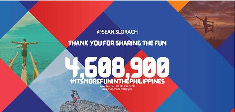 It's more fun in the Philippines. (DOT Website)