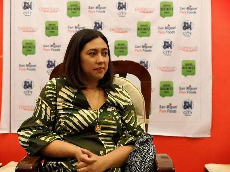 Department of Tourism (DOT)-Davao regional director Tanya Rabat-Tan. (Photo by Lyka Casamayor)