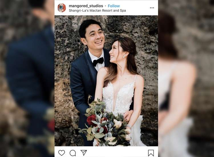 SLATER Young and Kryz Uy tied the knot over the weekend and naturally, all fans turned to their trusty phones to get the latest dish on the nuptials. (Photo courtesy of @mangored_studios on Instagram)