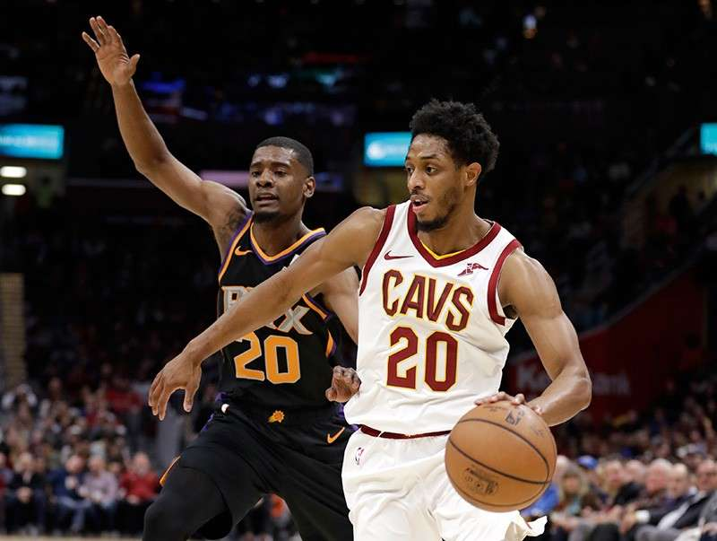 Phoenix Suns against the Cleveland Cavaliers (AP)