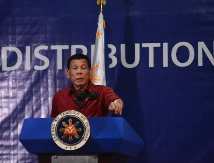 CEBU. President Rodrigo Duterte said religious leaders should not be threatened as they have nothing to do with politics. (SunStar photo/Amper Campaña)