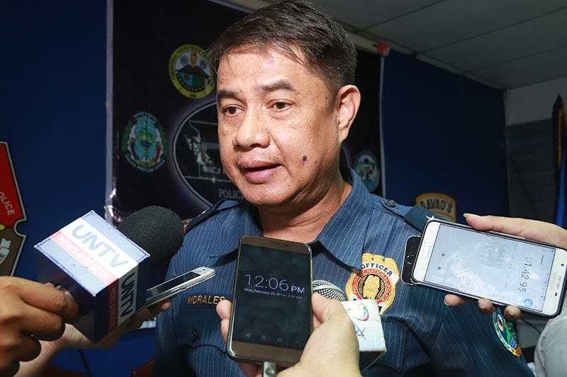 Police Regional Office (PRO)-Davao director Police Chief Superintendent Marcelo Morales. (Photo by Juliet Revita)