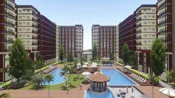 Picture is Primeworld Land's Mactan condominium development, Primeworld District.