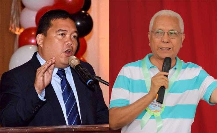 CEBU. Bohol Provincial Administrator Alfonso Damalerio II (left) and Bohol gubernatorial bet Leoncio Evasco Jr. (Photos from Damalerio and Evasco's Facebook pages)