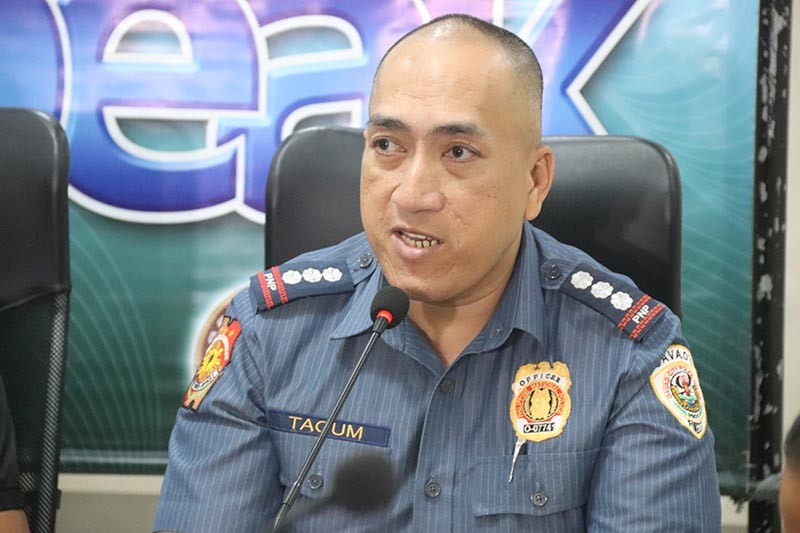Davao City Police Office director Police Senior Superintendent Alexander Tagum. (Juliet Revita)