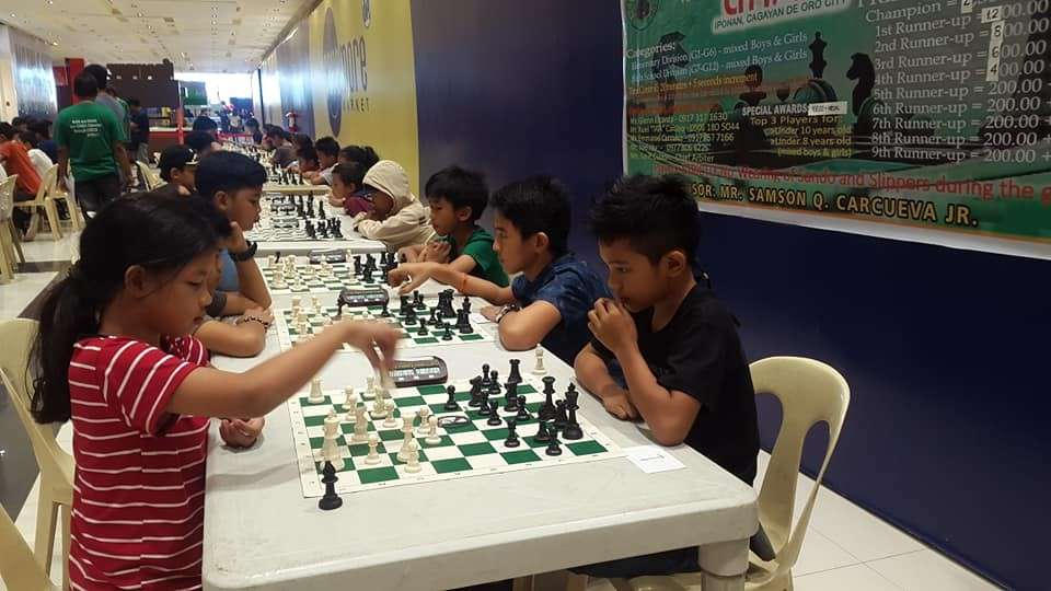 CAGAYAN DE ORO. The Parents Chess Club's inaugural show for 2019 at the City Mall in Barangay Iponan, Cagayan de Oro City on Sunday, February 23. (Lynde Salgados)