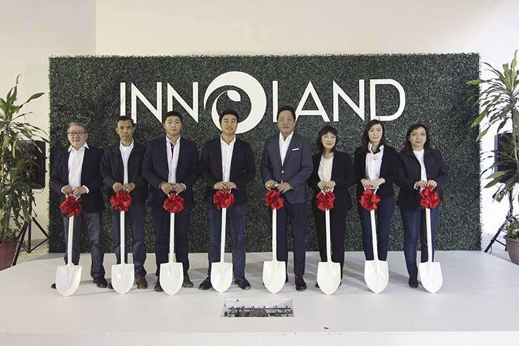 (From right to left) External Vice President for Sales & Marketing Wilson Granados; Vice President for Projects and Execution Services Rolando Lawas; Vice President for Operations Neil Anthony Ong; Chief Operating Officer Charles Vincent Ong; Chief Executive Officer Joy Anthony Ong; Vice President for Finance Marilou Ong; Internal Vice President for Sales & Marketing Crystal Chloe Ong-Chua; Manager for Support Services Mona Joyce Huan
