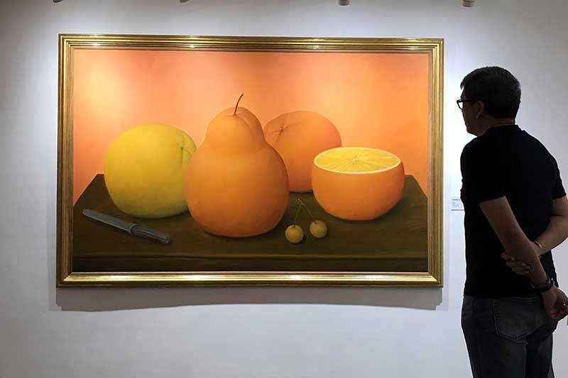 Fruits by Fernando Botero (Jinggoy I. Salvador)