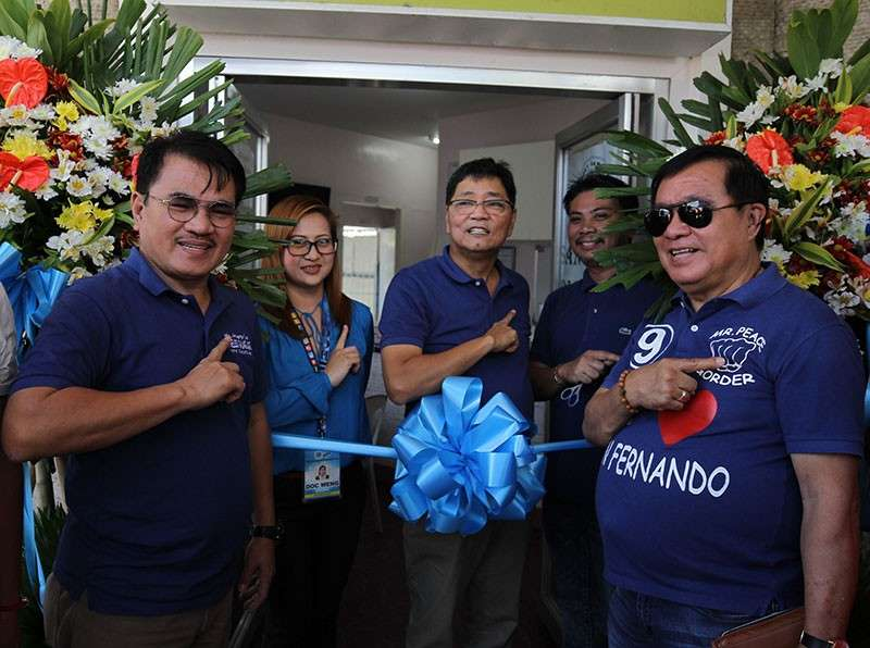 PAMPANGA. The City Government of San Fernando headed by Mayor Edwin Santiago formally opened the fifth birthing station located at Barangay San Agustin on March 1, 2019. (CSF-CIO)