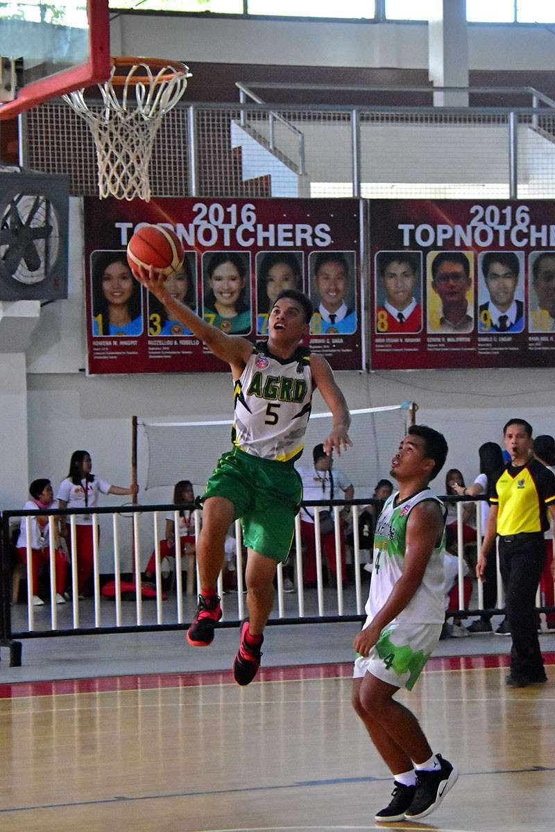 DAVAO. An Agro-Industrial Foundation College of the Philippines (AIFCP) Sailor drives to the basket during a game against Brokenshire College in the resumption of the Davao City Prisaa Meet 2019 basketball competition at the University of Mindanao (UM) Matina gym Saturday, March 2, 2019. (Macky Lim)