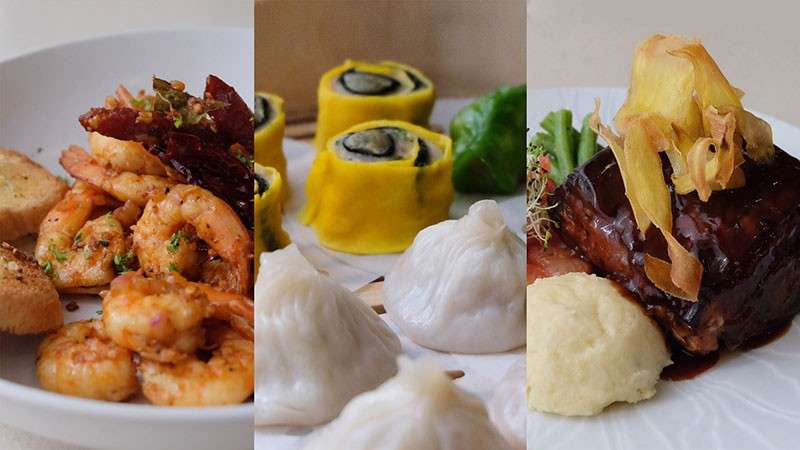 The 3 signature dishes of Marco Polo Davao.