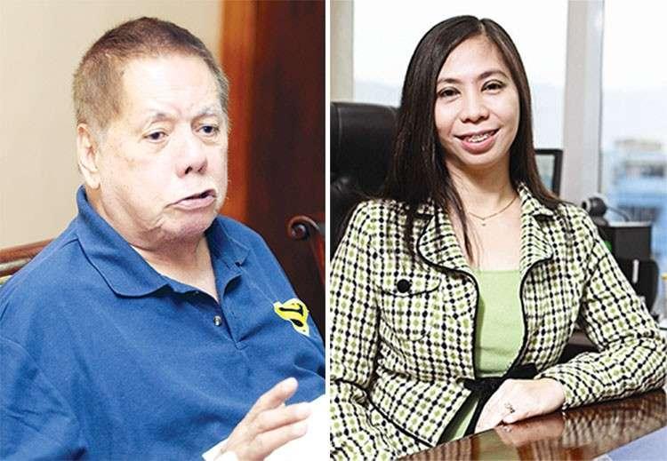 CEBU. Toledo City Mayor Sonny Osmeña and Cebu City Councilor Joy Pesquera. (SunStar File)