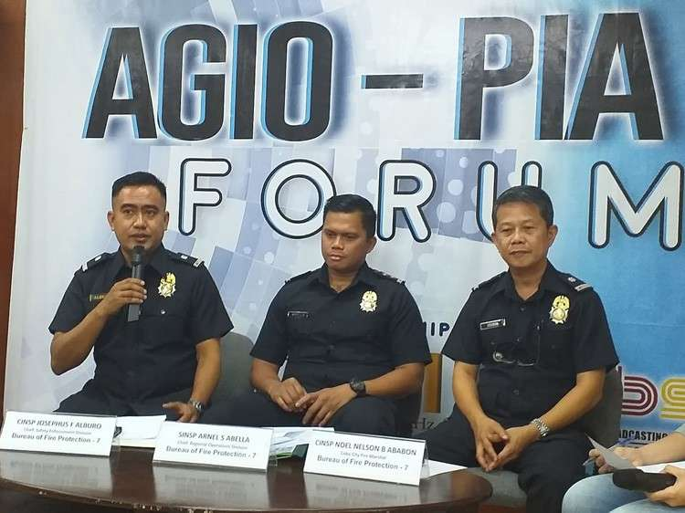 Officials of Bureau of Fire Protection said that they will be conducting a house-to-house visitation to check the fire safety in every household. (Johanna Marie Bajenting)