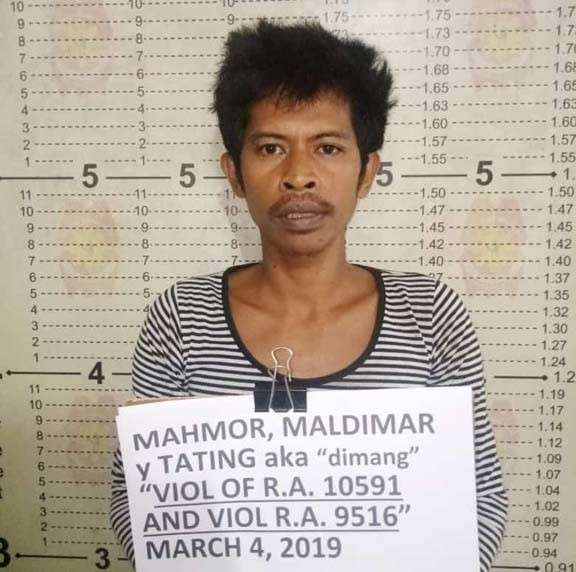 ZAMBOANGA. A joint military and police team on Monday, March 4, arrested Maldimar Mahmor, allegedly the liaison officer of the Abu Sayyaf Group, in Ipil, Zamboanga Sibugay. (Contributed photo)