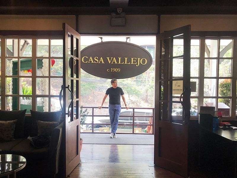 BAGUIO. Stayed close to where good food is. Casa Vallejo & Hill Station restaurant is in one building (Photo by Jinggoy I. Salvador)