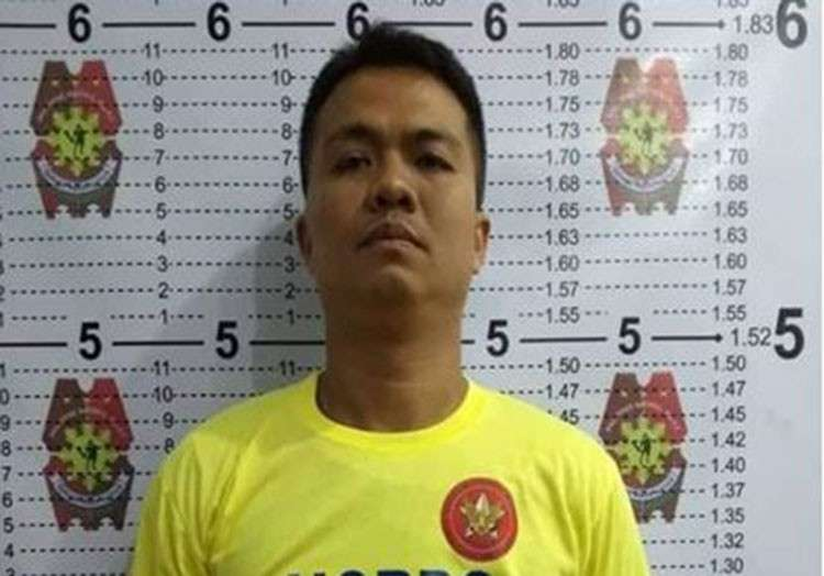 MANILA. Corporal Marlo Siblao Quibete's mug shot. (Photo from National Capital Region Police Office)