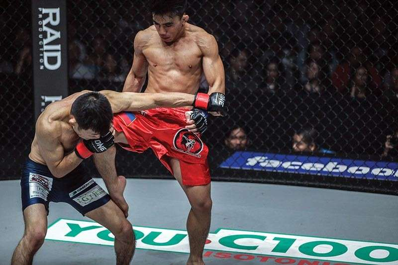 Conclusive. Joshua Pacio who will be up for a rematch against Saruta is seeking a decisive victory in their rematch in April. (One Championship Photo)