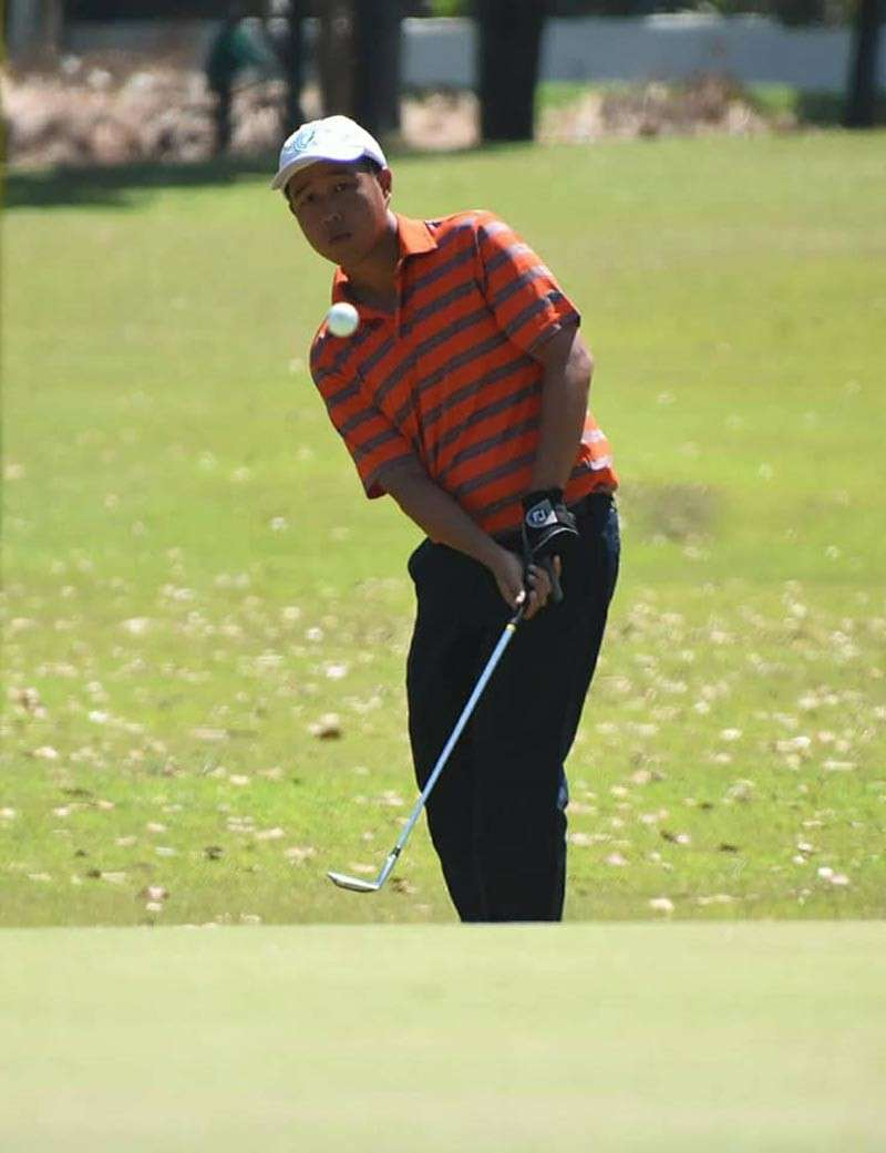 BEST OF THE DAY. Harvey Sytiongsa led Cebu Country Club in the first day with 34 points. (SunStar file)