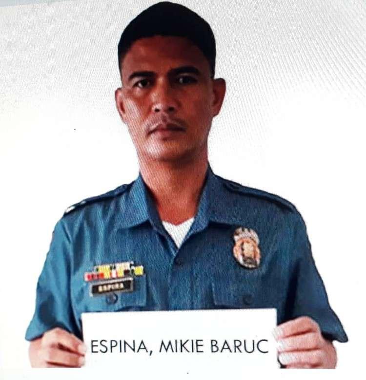 A photo of Police Chief Master Sergeant Mikie Espina (Arnold Bustamante/ Superbalita Cebu)