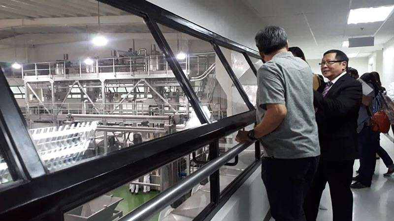 MISAMIS ORIENTAL. Inside the newly opened Gardenia operations facility that produces and packages Gardenia bread. (Photo by Jo Ann Sablad)
