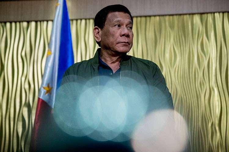 MANILA. In this file photo, President Rodrigo Duterte arrives to greet Secretary of State Mike Pompeo at Colonel Jesus Villamor Airbase in Manila, Philippines, Thursday, February 28, 2019. (AP)