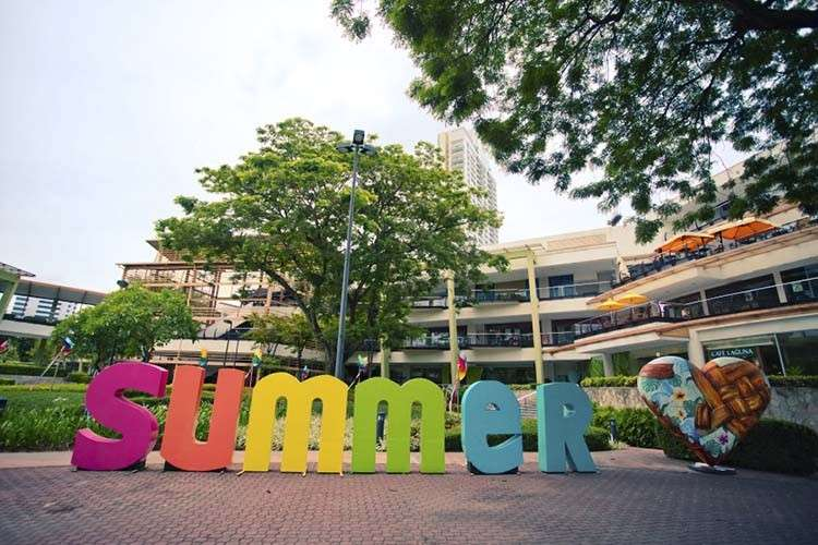 Ayala Center Cebu Happy Colorful Summer