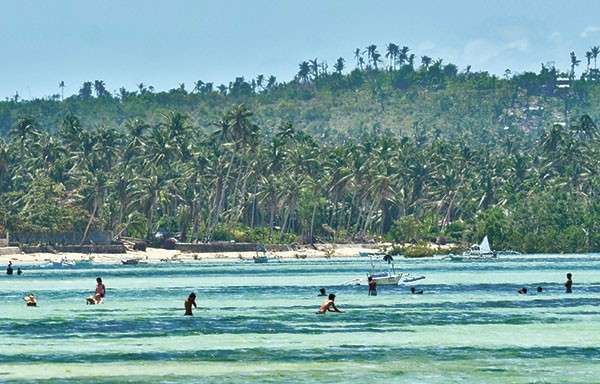 White Stretch of sand. San Remigio, known for its white sand beach, is said to have the longest shoreline in Cebu. (SunStar File Photo)
