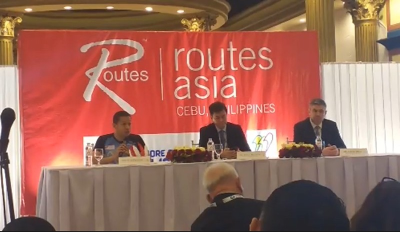 Routes Asia 2019 press conference at the Waterfront Cebu City Hotel and Casino