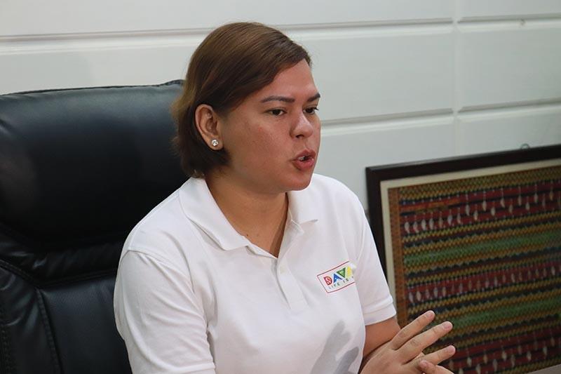 DAVAO. Davao City Mayor Sara Duterte-Carpio. (Photo by Juliet Revita)