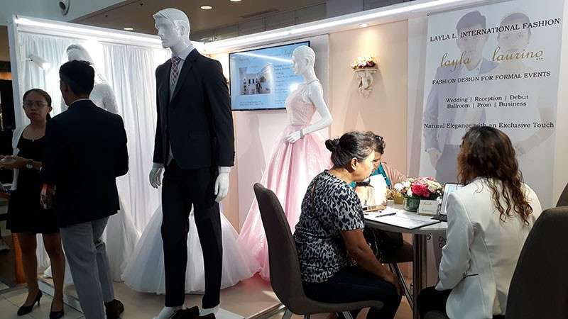 CAGAYAN DE ORO. She Said Yes, an annual wedding and debut expo organized by fashion stylist Kevin Abdala, features around 50 highly recommended and dependable event suppliers from different parts of Mindanao. (Jo Ann Sablad)