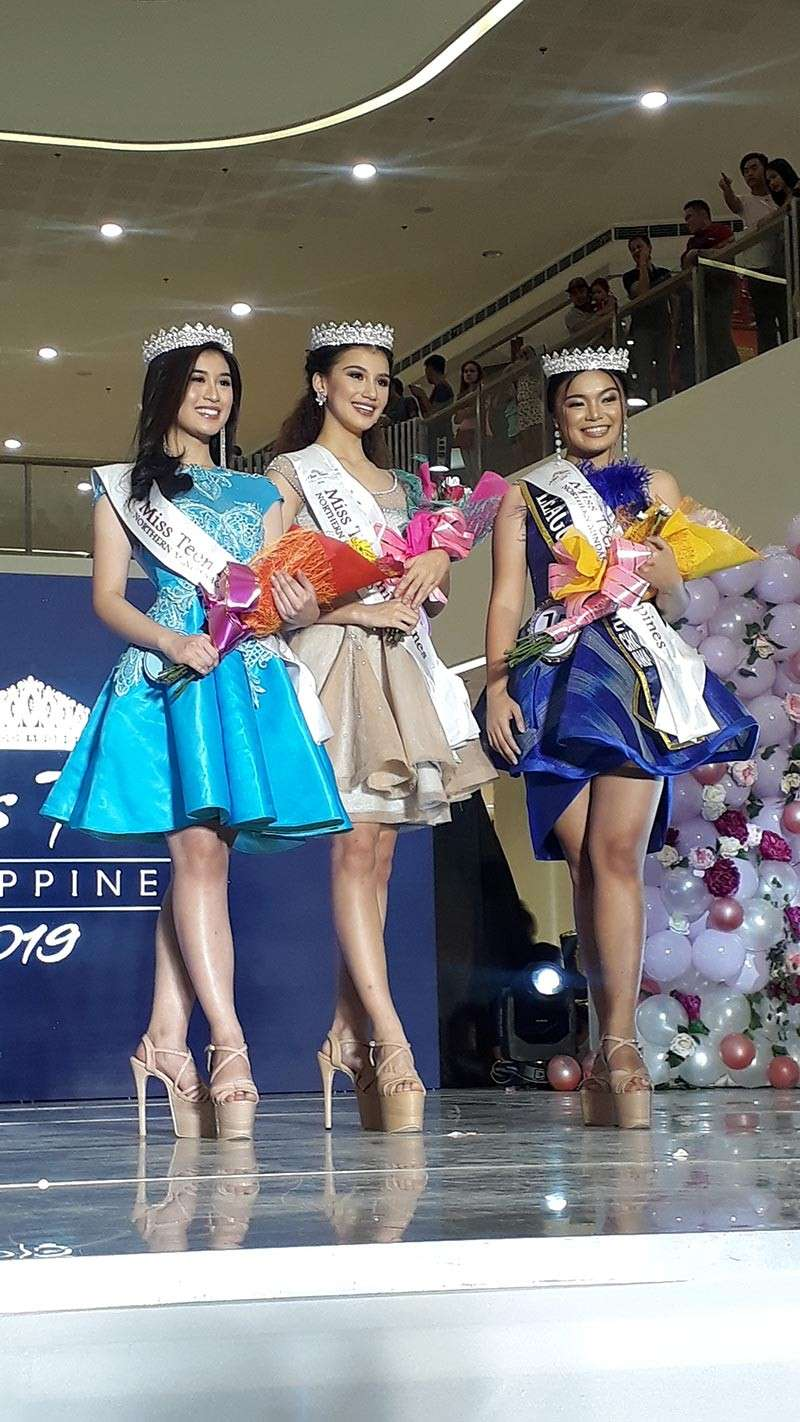 CAGAYAN DE ORO. Kamyll Pla, Nikki de Moura and Francine Gamboa were crowned as the Miss Teen Philippines 2019 Northern Mindanao last Sunday, March 10. They will be representing the region in the national pageant held in Manila on April 13. (Jo Ann Sablad)