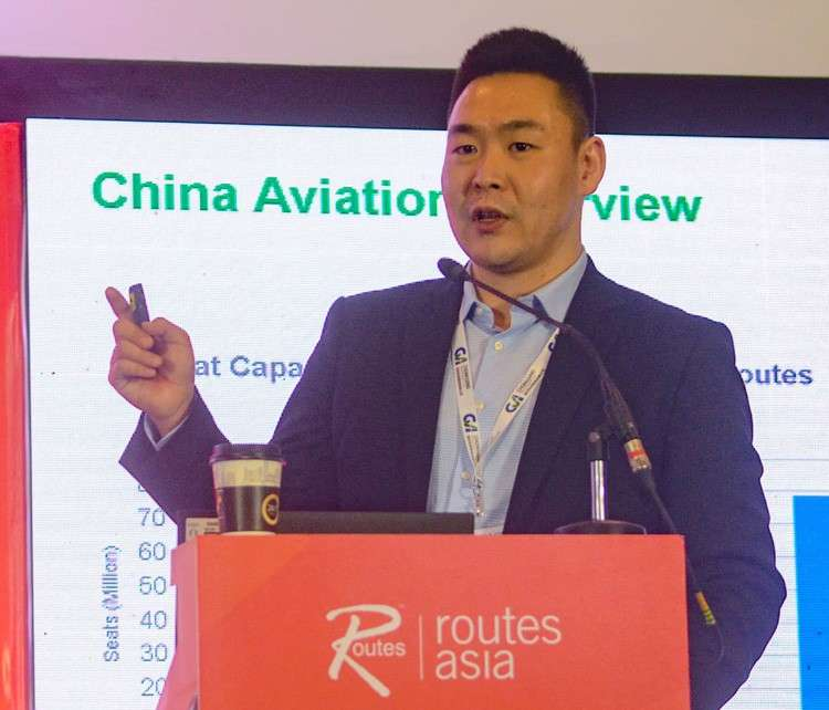 CEBU. Hang Zhao, business development manager and consultant for ASM Global Route Development, discuss on the growing trend of