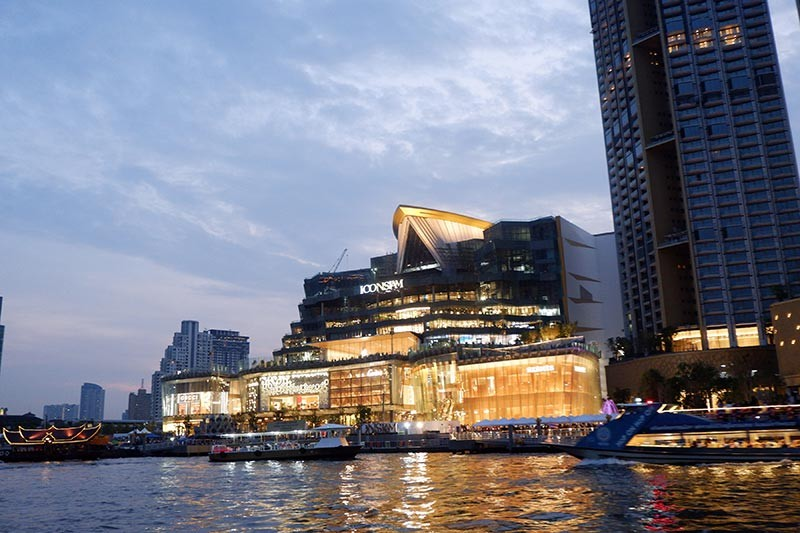 Like modern krathongs. IconSiam is Bangkok's latest luxury riverside destination. (Photo by Jinggoy I. Salvador)