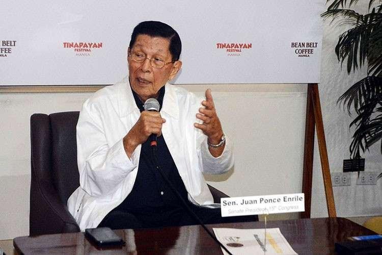 MANILA. Former Senate President Juan Ponce Enrile. (Al Padilla/SunStar File)