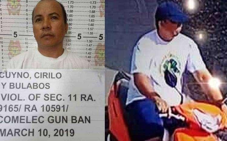 CEBU. Nasikop si Cirilo Cuyno, 40,  duha ka adlaw human sa pagpangawat niini sa usa ka motorsiklo.  (Hulagway iya sa MCPO)