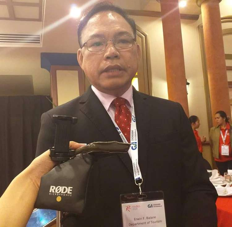 CEBU. Dr. Erwin Balane, head of the Department of Tourism (DOT)'s Route Development team, said more interconnecting flights from Cebu to other countries are being eyed to attract more tourists to visit the country. (Johanna Marie O. Bajenting)