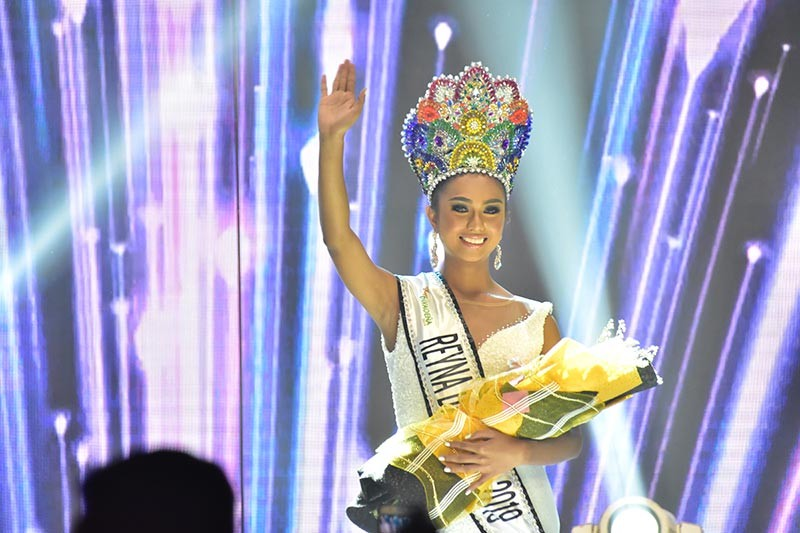 DAVAO. Marking a historic night in Davao City, Reyna Calinan Rojean M. Buhian became the first Reyna Davaoeña. (Contributed Photo)