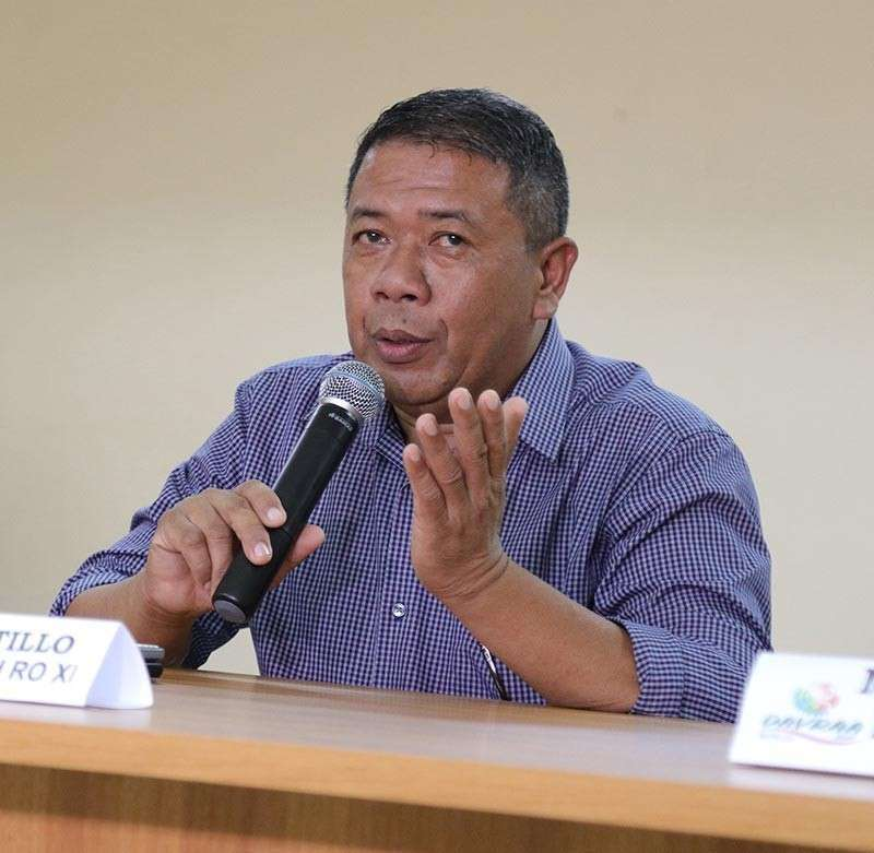 DAVAO. Deped 11 spokesperson Jenielito Atillo (File Photo)