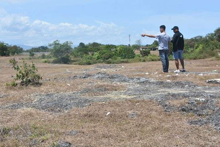 CEBU. The area in Lapu-Lapu City where Christine Lee Silawan was found dead. (Allan Cuizon)