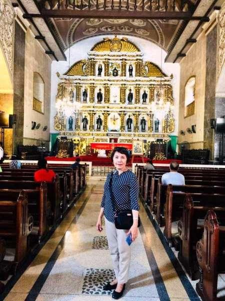 Main altar of Basilica Del Santo Niño. (Debb Bautista)