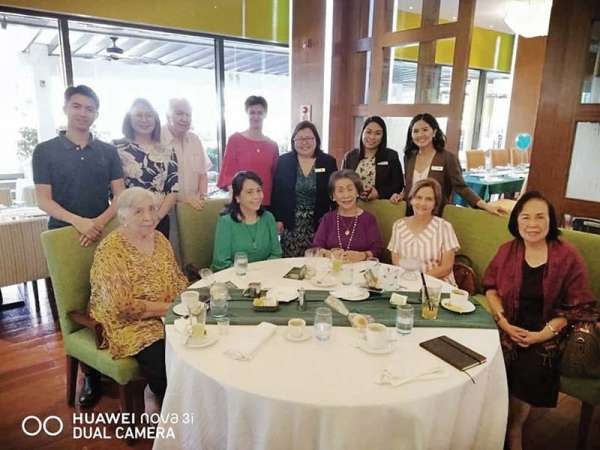 Feast. At St. Patrick's Day Festival at Marco Polo Plaza Cebu: The Marco Polo team led by Michaela Priesner, resident manager, Lara Scarrow, with media guests Cookie Newman, Nelia Neri, Flor Ynclino, Honey Loop, Jimmy Picornell and MCE.