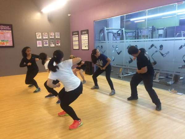CAGAYAN DE ORO. A total of 10 people participated in JCI Kagayhaan Gold's Pinay Power project for the Women's Month celebration, the Krav Maga: Basic Self-Defense Training, last Saturday, March 16, at the Anytime Fitness in SM CDO Downtown Premier. (Photo from JCI Kagayhaan Gold)