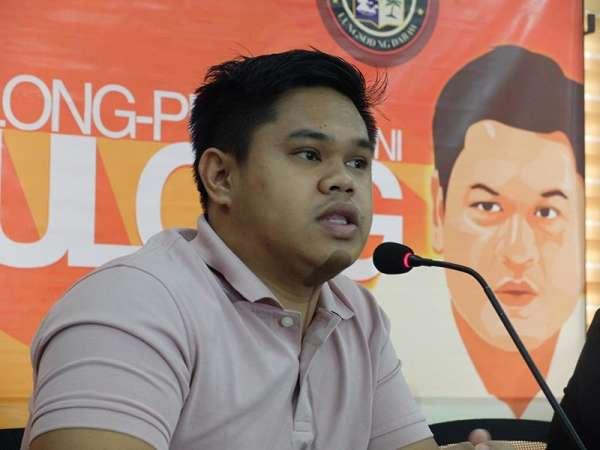 Sangguniang Kabataan (SK) Federation president of Davao City Jaffar Marohomsalic (Photo by Ralph Lawrence G. Llemit)