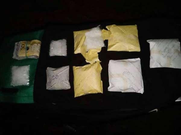 CEBU. Ang mga pakete sa gituohang shabu nga motimbang sa 600 gramos nga mobalor ang tanan og P4,080,000.(Tampo nga hulagway)